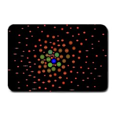 Molecular Chemistry Of Mathematical Physics Small Army Circle Plate Mats by Mariart