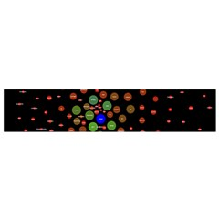 Molecular Chemistry Of Mathematical Physics Small Army Circle Flano Scarf (small) by Mariart