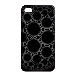 Plane Circle Round Black Hole Space Apple Iphone 4/4s Seamless Case (black) by Mariart