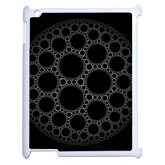 Plane Circle Round Black Hole Space Apple Ipad 2 Case (white) by Mariart