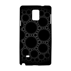 Plane Circle Round Black Hole Space Samsung Galaxy Note 4 Hardshell Case by Mariart