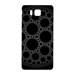 Plane Circle Round Black Hole Space Samsung Galaxy Alpha Hardshell Back Case by Mariart