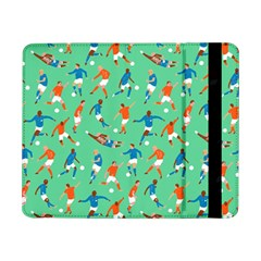 Players Football Playing Sports Dribbling Kicking Goalkeepers Samsung Galaxy Tab Pro 8 4  Flip Case by Mariart