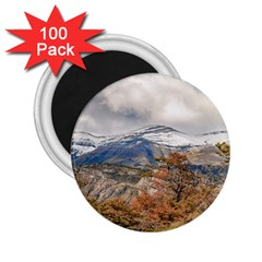 Forest And Snowy Mountains, Patagonia, Argentina 2 25  Magnets (100 Pack)  by dflcprints