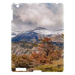 Forest And Snowy Mountains, Patagonia, Argentina Apple Ipad 3/4 Hardshell Case by dflcprints