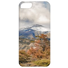 Forest And Snowy Mountains, Patagonia, Argentina Apple Iphone 5 Classic Hardshell Case by dflcprints