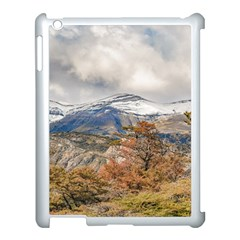 Forest And Snowy Mountains, Patagonia, Argentina Apple Ipad 3/4 Case (white) by dflcprints