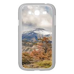 Forest And Snowy Mountains, Patagonia, Argentina Samsung Galaxy Grand Duos I9082 Case (white) by dflcprints