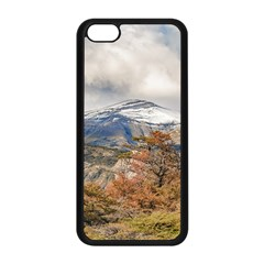 Forest And Snowy Mountains, Patagonia, Argentina Apple Iphone 5c Seamless Case (black) by dflcprints