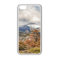 Forest And Snowy Mountains, Patagonia, Argentina Apple Iphone 5c Seamless Case (white) by dflcprints