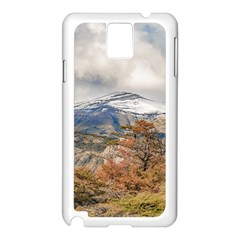 Forest And Snowy Mountains, Patagonia, Argentina Samsung Galaxy Note 3 N9005 Case (white) by dflcprints