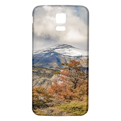 Forest And Snowy Mountains, Patagonia, Argentina Samsung Galaxy S5 Back Case (white) by dflcprints
