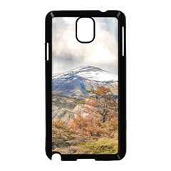 Forest And Snowy Mountains, Patagonia, Argentina Samsung Galaxy Note 3 Neo Hardshell Case (black) by dflcprints