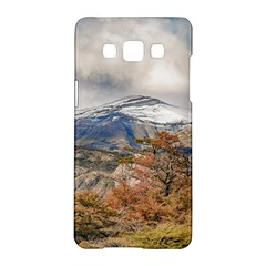 Forest And Snowy Mountains, Patagonia, Argentina Samsung Galaxy A5 Hardshell Case  by dflcprints