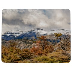 Forest And Snowy Mountains, Patagonia, Argentina Jigsaw Puzzle Photo Stand (rectangular) by dflcprints