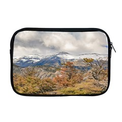 Forest And Snowy Mountains, Patagonia, Argentina Apple Macbook Pro 17  Zipper Case by dflcprints