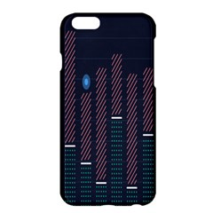 Plaid Line Circle Polka Green Red Blue Apple Iphone 6 Plus/6s Plus Hardshell Case by Mariart