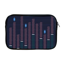 Plaid Line Circle Polka Green Red Blue Apple Macbook Pro 17  Zipper Case by Mariart
