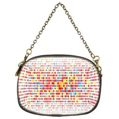 Random Sized Cube Multiple Plaid Color Rainbow Chain Purses (two Sides)  by Mariart