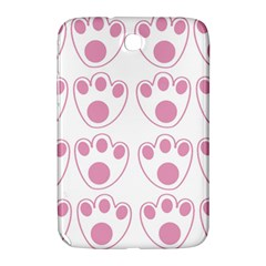 Rabbit Feet Paw Pink Foot Animals Samsung Galaxy Note 8 0 N5100 Hardshell Case  by Mariart