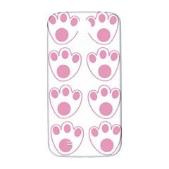 Rabbit Feet Paw Pink Foot Animals Samsung Galaxy S4 I9500/i9505  Hardshell Back Case by Mariart