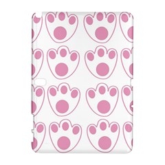 Rabbit Feet Paw Pink Foot Animals Galaxy Note 1 by Mariart