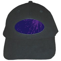 Big Bang Black Cap by ValentinaDesign