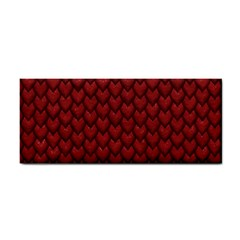 Red Snakeskin Snak Skin Animals Cosmetic Storage Cases by Mariart