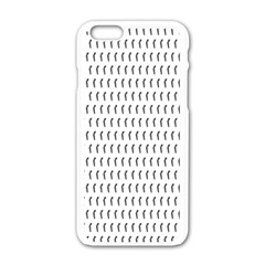 Renelle Box Waves Chevron Wave Line Apple Iphone 6/6s White Enamel Case by Mariart