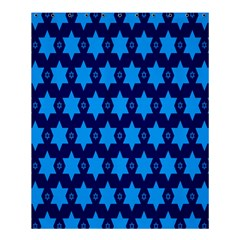 Star Blue Space Wave Chevron Sky Shower Curtain 60  X 72  (medium)  by Mariart