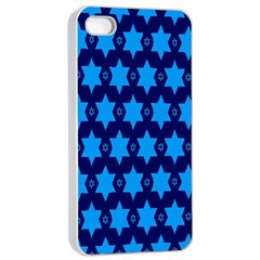 Star Blue Space Wave Chevron Sky Apple Iphone 4/4s Seamless Case (white) by Mariart