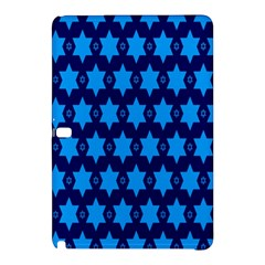 Star Blue Space Wave Chevron Sky Samsung Galaxy Tab Pro 10 1 Hardshell Case by Mariart