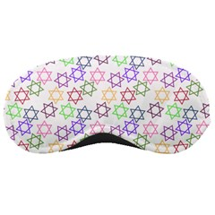 Star Space Color Rainbow Pink Purple Green Yellow Light Neons Sleeping Masks by Mariart
