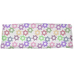 Star Space Color Rainbow Pink Purple Green Yellow Light Neons Body Pillow Case Dakimakura (two Sides) by Mariart