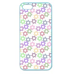Star Space Color Rainbow Pink Purple Green Yellow Light Neons Apple Seamless Iphone 5 Case (color) by Mariart