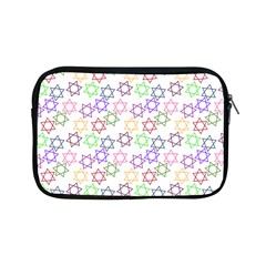 Star Space Color Rainbow Pink Purple Green Yellow Light Neons Apple Ipad Mini Zipper Cases by Mariart