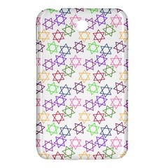 Star Space Color Rainbow Pink Purple Green Yellow Light Neons Samsung Galaxy Tab 3 (7 ) P3200 Hardshell Case  by Mariart