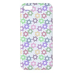 Star Space Color Rainbow Pink Purple Green Yellow Light Neons Iphone 5s/ Se Premium Hardshell Case by Mariart