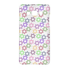 Star Space Color Rainbow Pink Purple Green Yellow Light Neons Samsung Galaxy A5 Hardshell Case  by Mariart