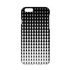 Triangle Black White Wave Chevron Apple Iphone 6/6s Hardshell Case by Mariart