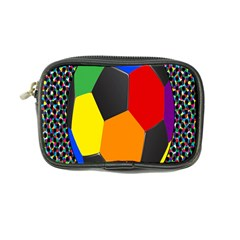Team Soccer Coming Out Tease Ball Color Rainbow Sport Coin Purse by Mariart