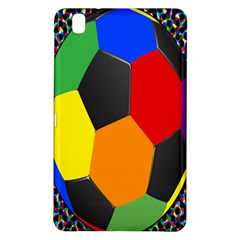 Team Soccer Coming Out Tease Ball Color Rainbow Sport Samsung Galaxy Tab Pro 8 4 Hardshell Case by Mariart