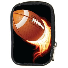 Super Football American Sport Fire Compact Camera Cases by Mariart