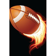 Super Football American Sport Fire 5 5  X 8 5  Notebooks by Mariart