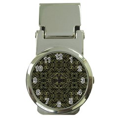 Golden Geo Tribal Pattern Money Clip Watches by dflcprints