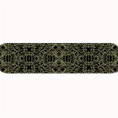Golden Geo Tribal Pattern Large Bar Mats by dflcprints