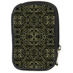 Golden Geo Tribal Pattern Compact Camera Cases by dflcprints