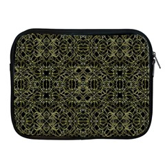 Golden Geo Tribal Pattern Apple Ipad 2/3/4 Zipper Cases by dflcprints