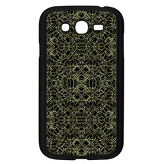 Golden Geo Tribal Pattern Samsung Galaxy Grand Duos I9082 Case (black) by dflcprints