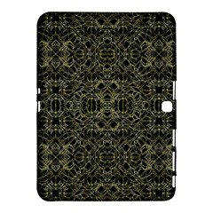Golden Geo Tribal Pattern Samsung Galaxy Tab 4 (10 1 ) Hardshell Case  by dflcprints
